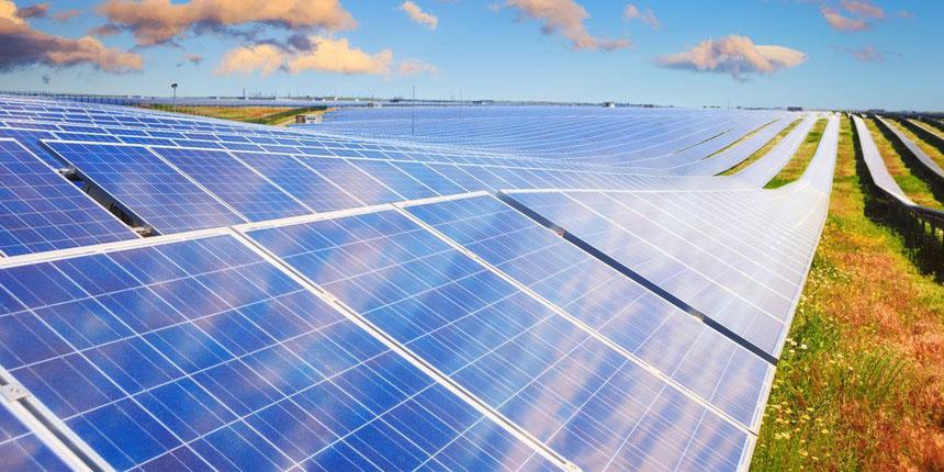 Una planta fotovoltáica de panales solares
