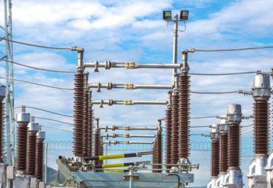 Una de las subestaciones eléctricas en España desarrolladas por Melfosur
