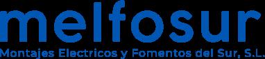 logotipo descriptivo azul