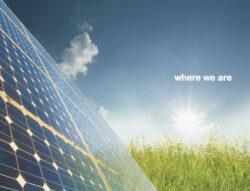 Catálogo en inglés de Melfosur, empresa de energía y sociedad
